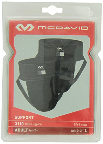 McDavid 3110 Athletic Supporter (2-Pack)