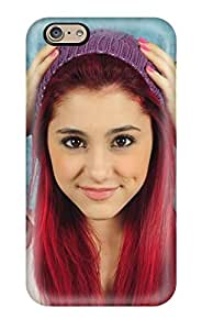 New Snap-on CaseyKBrown Skin Case Cover Compatible With Iphone 6- Ariana Grande
