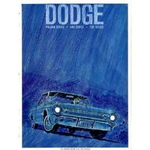 Original Showroom Sales Brochure for 1964 Dodge Polara - 330 - 440