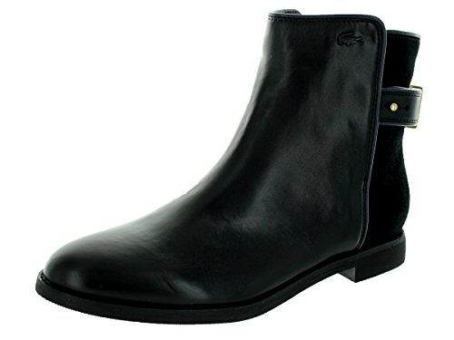 Lacoste Women's Rosemont Chelsea Srw Black Boot 8.5 Women US by Lacoste