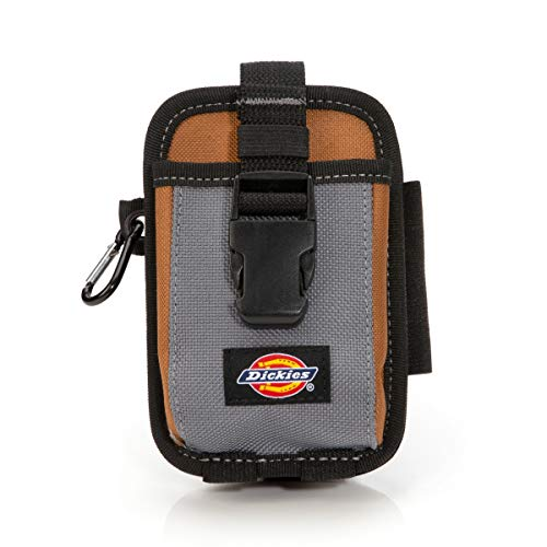 (Dickies Work Gear 57100 2-Compartment Large Phone and Tool Pouch)