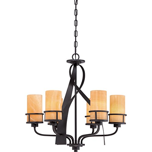 Quoizel KY5506IB 6-Light Kyle Chandelier in Imperial Bronze