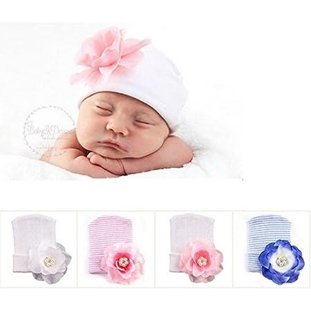 Bonnet naissance en tissu très souple parfait maternité La panoplie Des Petits LAPTND-28559