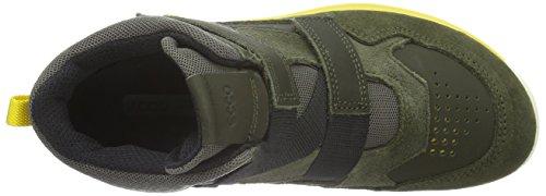 ECCO Biom Trail Kids, Zapatillas de Deporte Para Exterior Para Niños Verde (GRAPE LEAF/GRAPE LEAF/BLACK59675)