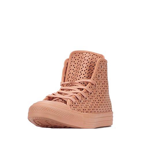 Converse Converse Chuck Taylor All Star Hi Perforata, Damen Sneaker Rosa Blush-pink Blush-pink Blush