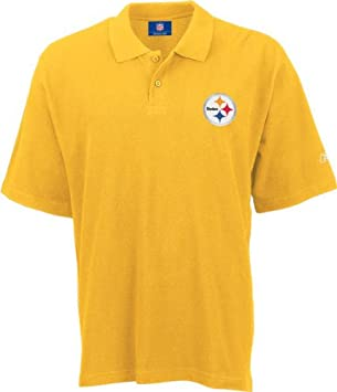 Pittsburgh Steelers Gold Reebok RA Polo Shirt Camisa: Amazon.es ...