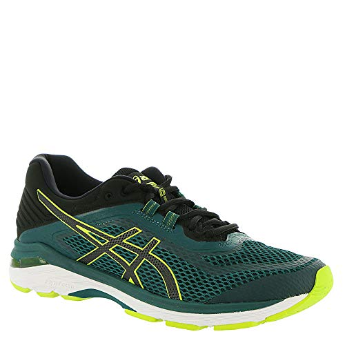 ASICS GT-2000 6 Men's Running Shoe, Everglade/Black, 12 M US