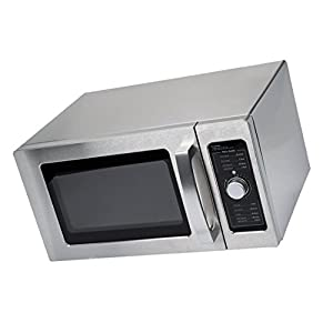 Microwave Special Offer Stainless Steel Commercial Microwave with Dial Control - 120V, 1000W Now on Sale Price for a limited time only