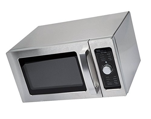 Special Offer Solwave Stainless Steel Commercial Microwave with Dial Control - 120V, 1000W Sale Price for a limited time
