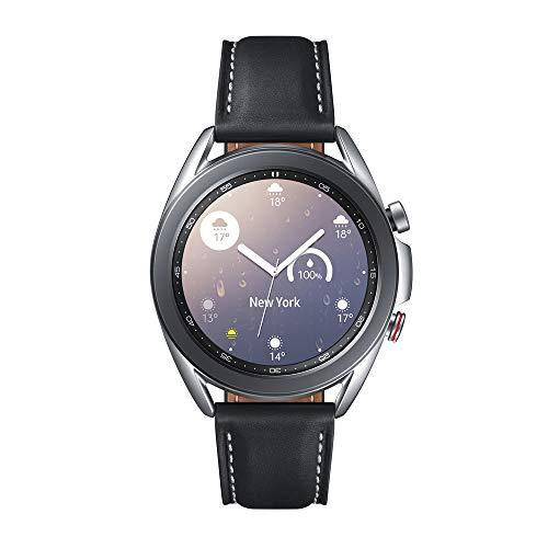 Samsung Galaxy Watch3 Smartwatch de 45mm I LTE I Reloj inteligente Color Plata I Acero [Versión española]