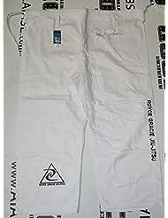 Royce Gracie Signed Official Jiu-Jitsu Kimono Gi Pants COA UFC Autograph - PSA/DNA Certified - Autographed UFC Jerseys and Trunks