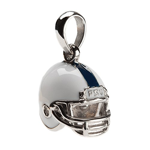 Penn State Charm Pendant | Penn State Football Helmet Pendant Charm | Officially Licensed Penn State Jewelry | Penn State Gifts | PSU Charms | Stainless (Penn Helmet)