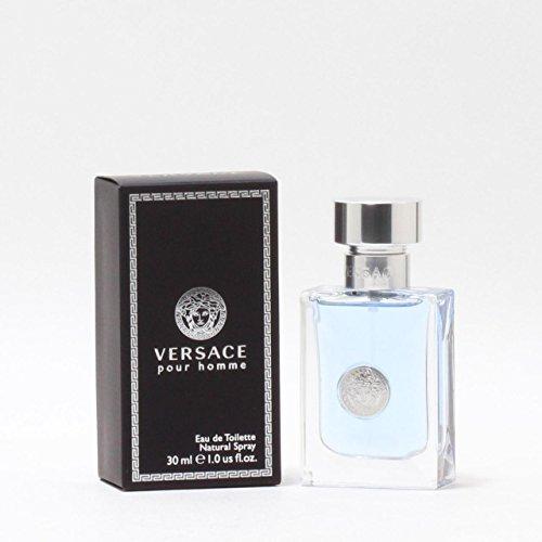 Versace Natural Spray - Versace Pour Homme Eau De Toilette Natural Spray 1.0 oz