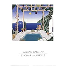 Thomas McKnight - Aegean Garden NO LONGER IN PRINT - LAST ONE!!