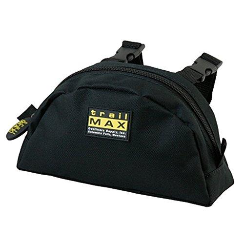 trailMAX Pommel Pocket. Satteltasche Western Packtasche schwarz