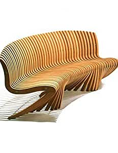 Curved Spirit Song Bench