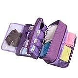 mossty Travel Multi-function Bra Organize Storage Bag, Bra/Socks/Cosmetic Accessories Storage Bag Men Women