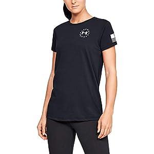 Best Epic Trends 41Hpn6Lk--L._SS300_ Under Armour Women's Freedom Flag T-Shirt