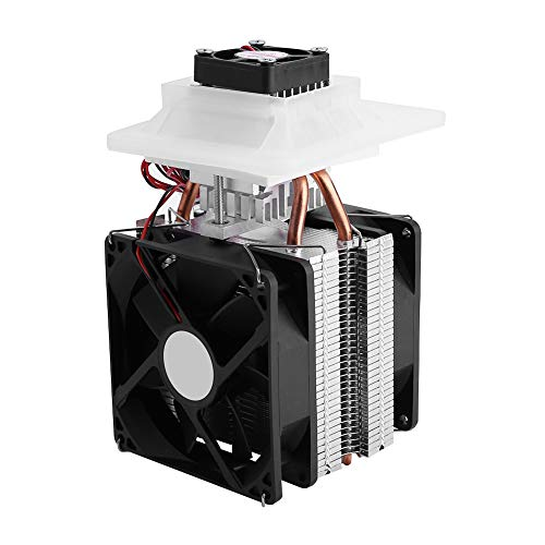 Thermoelectric Peltier Cooler, Asixx 12V Semiconductor Refrigeration Thermoelectric Peltier Air Cooling Dehumidification System, Simple Operation Cooling Quickly