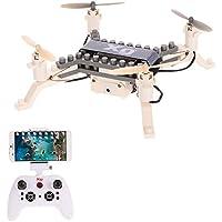 Goolsky XG171G 0.3MP Camera Wifi FPV DIY Building Block Drone Height Hold One Key Return Clip Quadcopter Toy