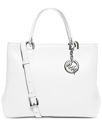 MICHAEL MICHAEL KORS Anabelle Medium Top Zip Leather Tote