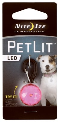 (Nite Ize PCL02-03-12JE PetLit LED Collar Light - Quantity 12)
