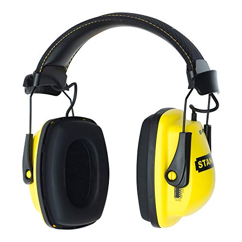 Stanley Sync Stereo Earmuff with MP3 Connection (RST-63011) (Renewed)