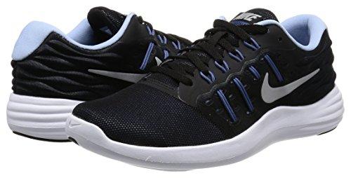 Medios Mujeres Zapatos Nike plateado Para Caminar Cordon Lunarstelos Talla Negro Metálico Bajos amp; xOxZnIRd