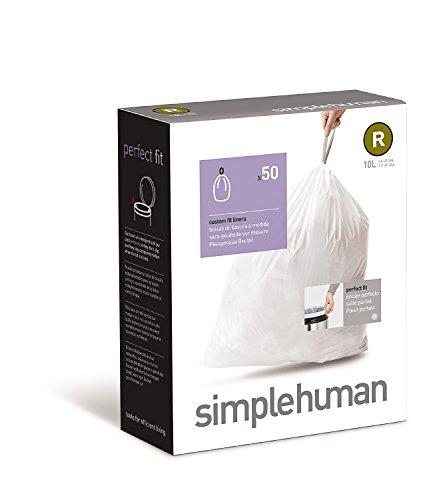 simplehuman Code R Custom Fit Trash Can Liner 10 L / 2.6 Gal