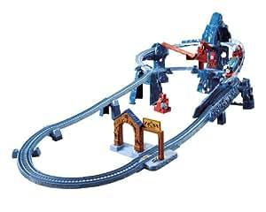 Fisher-Price Thomas and Friends Trackmaster Motorized Railway [Risky Rails Bridge Drop]