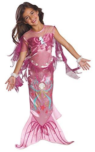 Child's Pink Mermaid Costume