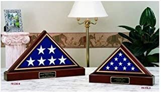 product image for American Made Flag and Pedestal Display case for 5ft x 8 ft American Flag