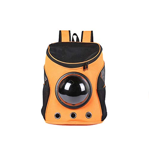 orange Pet Travel Carrier Dog Bags Portable Breathable Cat Bag for Cats Dogs up to 26+ lbs (color   orange)