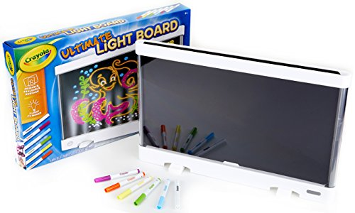 Crayola Ultimate Light Board, Drawing Tablet, Gift for Kids, Age 6, 7, 8, 9