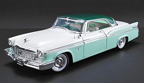 New DIECAST Toys CAR Acme 1:18 1956 Chrysler New Yorker ST Regis (SURF Green Poly/Cloud White and Mint Green) A1809003