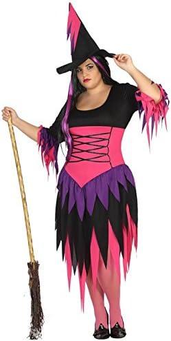 Atosa 31474 Disfraz bruja adulto XXL, talla mujer: Amazon.es ...
