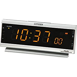 シチズン 電波目覚まし時計 パルデジットピュア LED 8RZ099-019