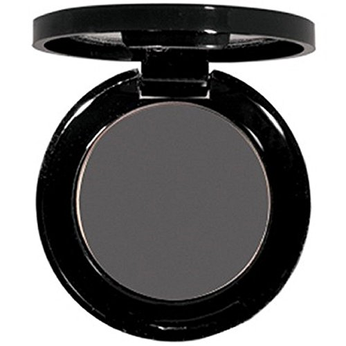 Matte EyeShadow Single- Hypoallergenic - Pressed Powder - High Pigment True Matte Finish - Use As Wet or Dry Eye shadow .06 oz. (Charcoal)