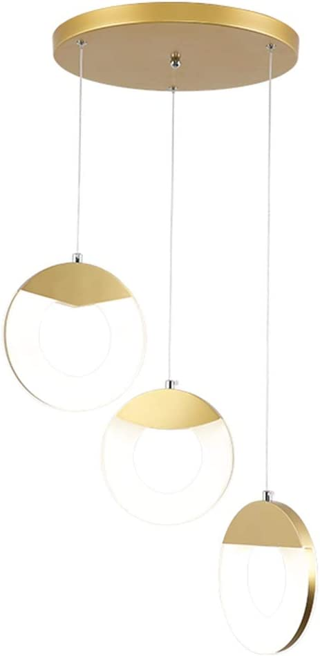 Nordic Simple Chandelier Spray Painting Pendant Light Living