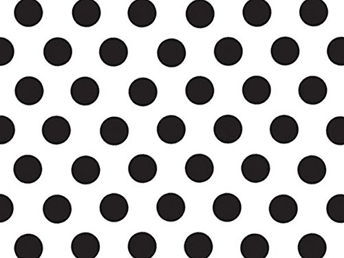 Domino Alley Dots Recycled Tissue 240~20''x30'' Sheets Tissue Prints (240 Sheets) - WRAPS-P495 by Miller Supply Inc