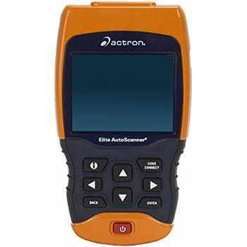 Amazon Com Actron Cp9185 Elite Autoscanner Diagnostic