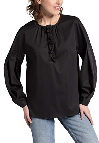 Premium Sleeve Eterna Long Uni Nero Blouse 1863 By 47wTnwXqZ