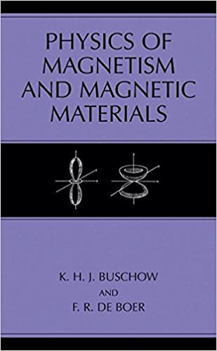 physics of magnetism and magnetic materials de boer f r buschow k h j
