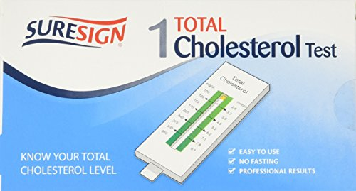 SureSign Home Cholesterol Test TOTAL Only - 1 Test.