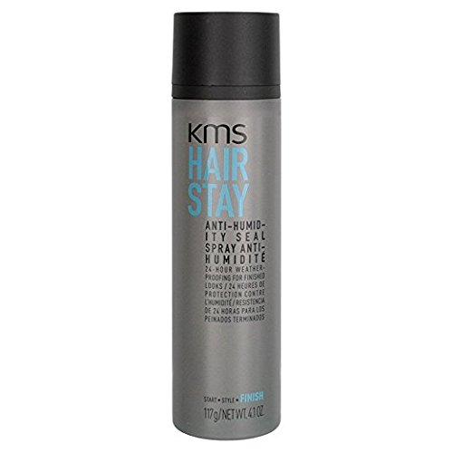 KMS HAIRSTAY Anti-Humidity Seal Spray - Weightless, Natural Shine, Flexible Shield, Unisex, 4.1 oz (Best Anti Humidity Spray)