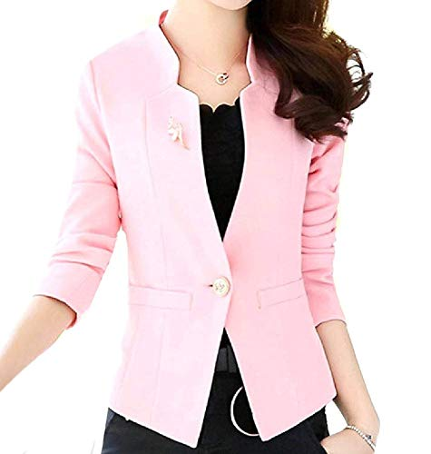 Rising ON Women's Open Front Slim Cut Sharp Shoulder for sale  Delivered anywhere in USA