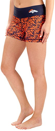 Denver Broncos Thematic Print Bootie Short Extra Large
