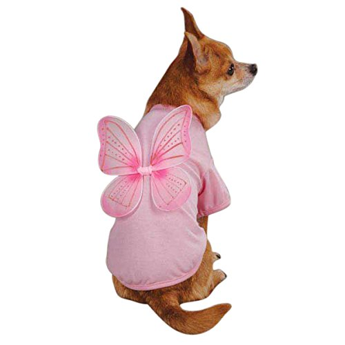 Dust Tee (East Side Collection ZM296 08 75 Fairy Dust Tee for Dogs, XX-Small, Pink)