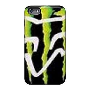 Top10cases Apple Iphone 6s Shockproof Hard Phone Covers Custom HD Monster Fox Image [rgf2354COEW]