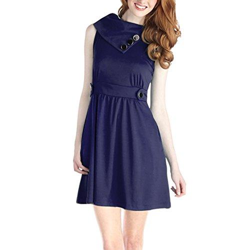 iGENJUN Womens Sleeveless Vintage Dresses product image